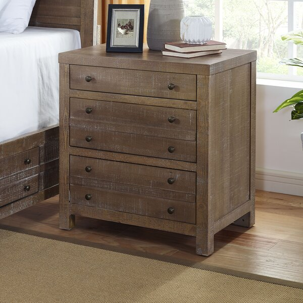 Alaine 3 Drawer Nightstand by Brayden Studio