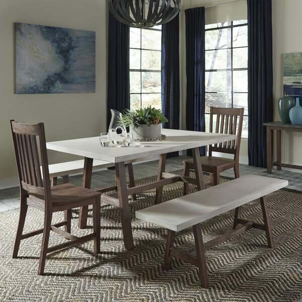 Jameown Trestle 5 Piece Dining Set by Trent Austin Design