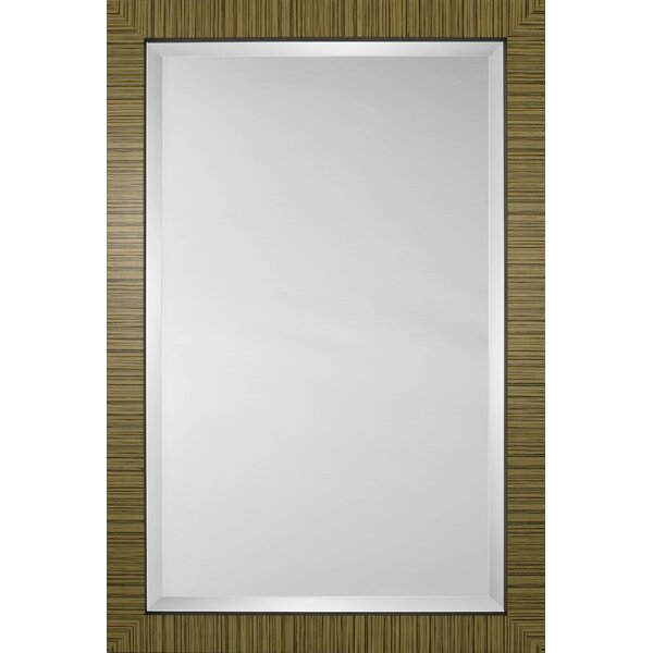 Mirror Style 80929 - Taupe Tiger Flat Face by Mirror Image Home