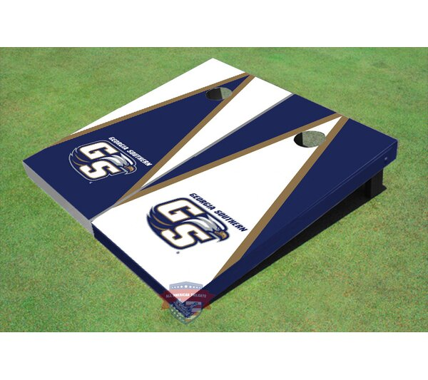 NCAA Alternating Triangle Cornhole Board (Set of 2) by All American Tailgate
