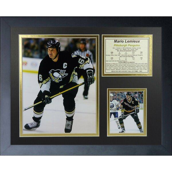 Mario Lemieux - Home Framed Memorabilia by Legends Never Die