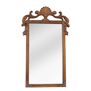 Bayou Breeze Rectangle Copper Wall Mirror