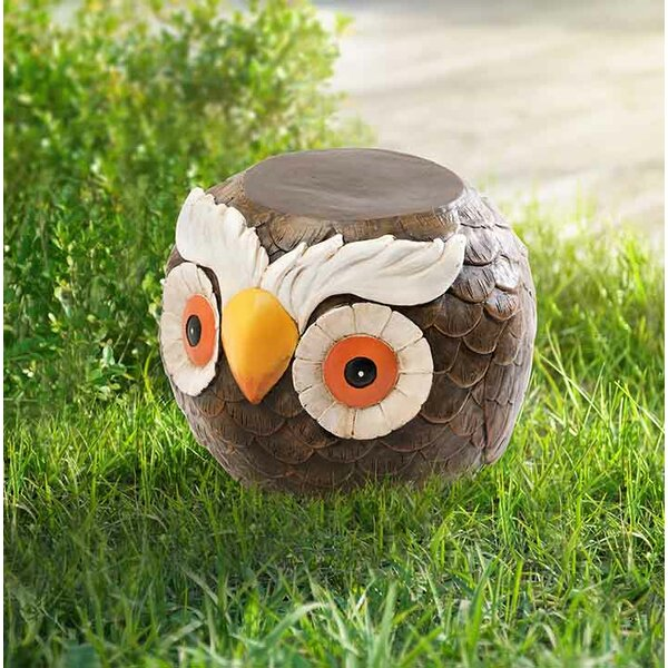 Ritter Owl Garden Stool by August Grove