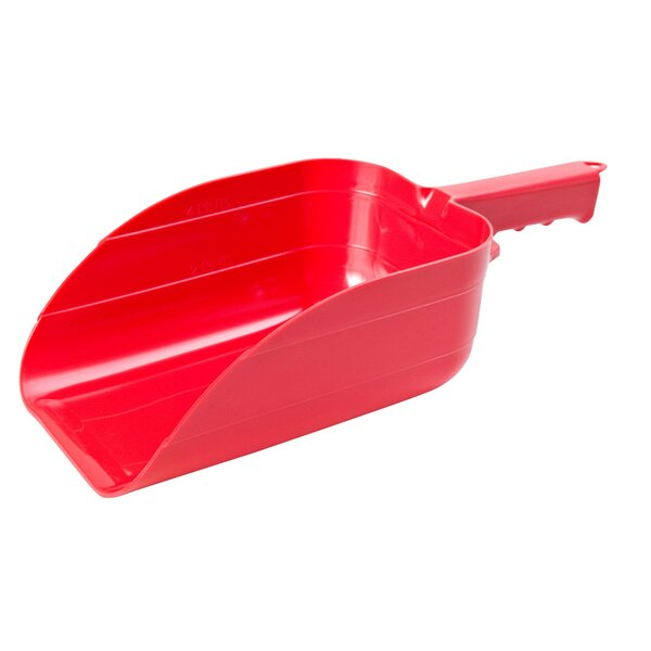 Feed Scoops in Red by Miller Mfg