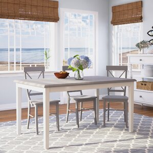 Lehigh Acres Dining Table by Beachcrest Home