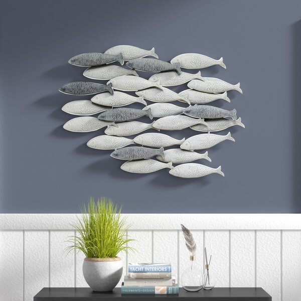 School of Fish Wall Décor by Rosecliff Heights