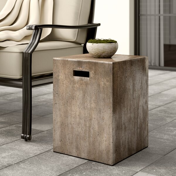 Clinchport Accent Stool by Greyleigh
