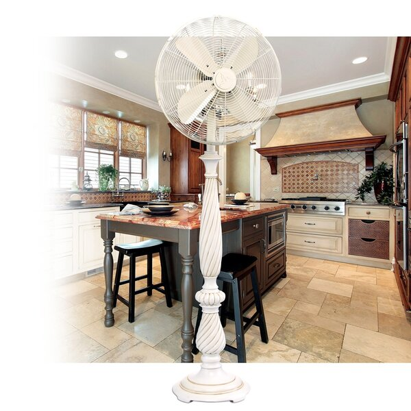 Sharri 16 Oscillating Floor Fan by Darby Home Co