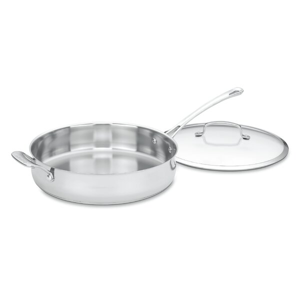12.2 Skillet with Lid by Cuisinart