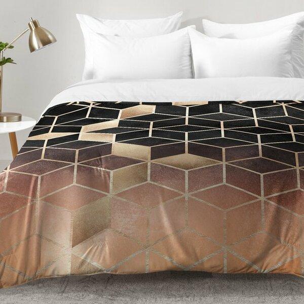Ombre Cubes Comforter Set