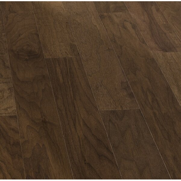 Spirit 5 Engineered Walnut Hardwood Flooring in Orchard by Kahrs