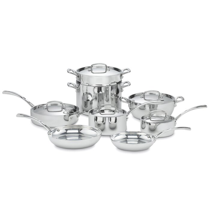 Cuisinart French Classic 13-Piece Stainless Cookware Set