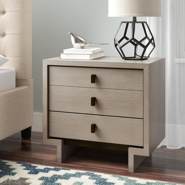 Keiper 3 Drawer Nightstand by Brayden Studio