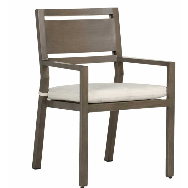 Avondale Patio Dining Chair with Cushion (Set of 2) by Summer Classics