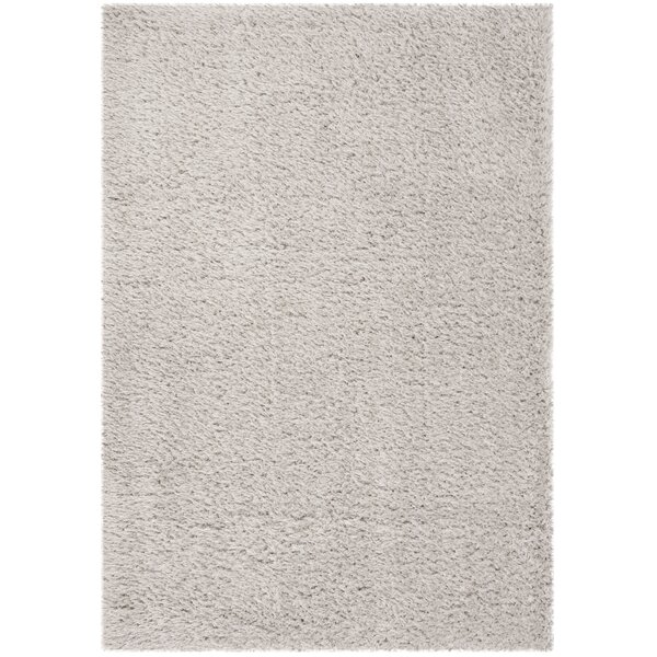 Shop Duhon Ivory Gray Shag Area Rug By Mercury Row Area Rugs