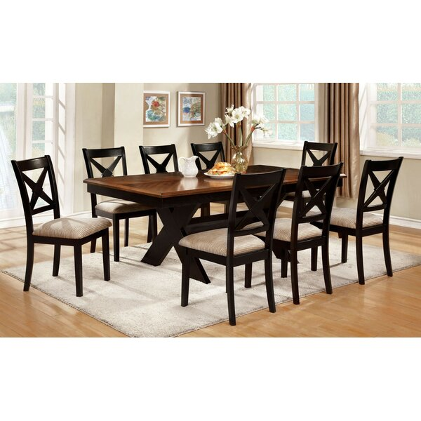 Tarsha 9 Piece Drop Leaf Dining Set by Gracie Oaks