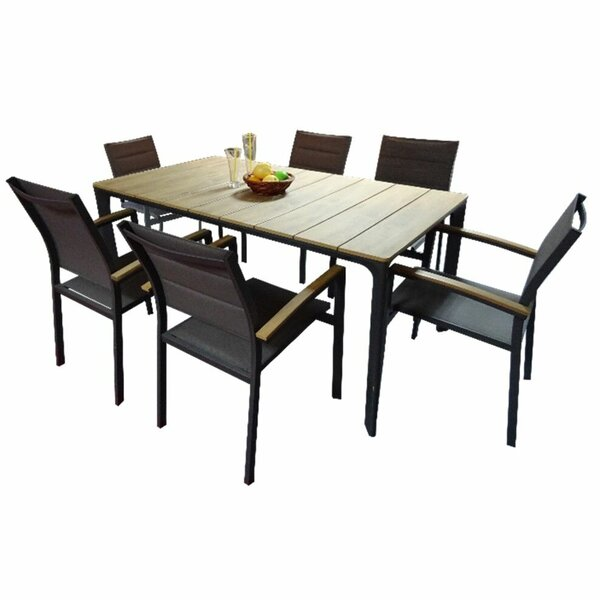 Crownover 7 Piece Patio Dining Set by Foundry Select