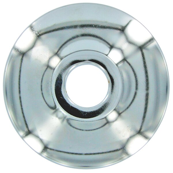 CTS Chrome Shallow Escutcheon 2 Count by SiouxChief