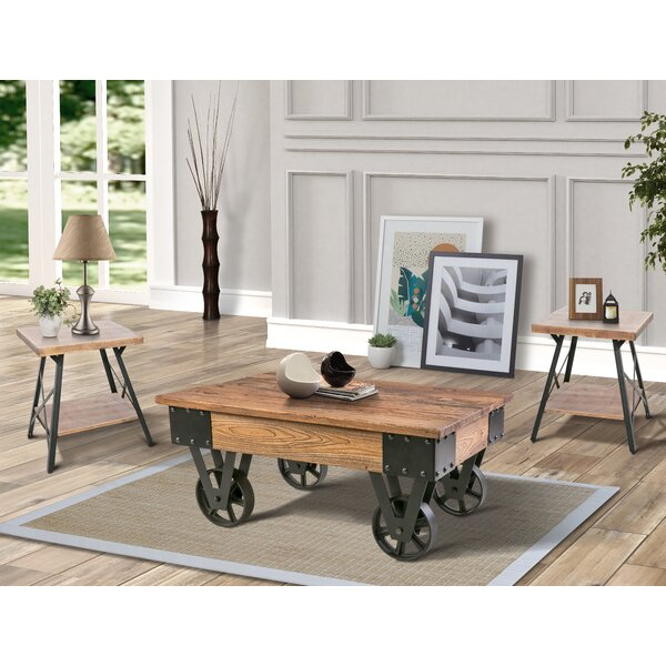 Bellville 3 Piece Coffee Table Set by 17 Stories
