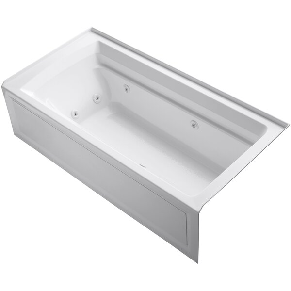 Archer 72 x 36 Whirlpool Bathtub by Kohler
