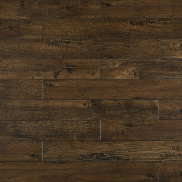 Heartland 5 x 48 x 12mm Maple Laminate Flooring in Leather by Bellami