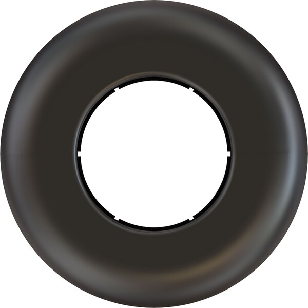 Black Decorative Escutcheon Plate by Crimson AV