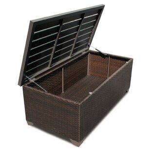 Barbados Wicker Deck Box