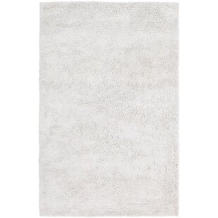 Find Plymouth Shag White Area Rug By Mercer41