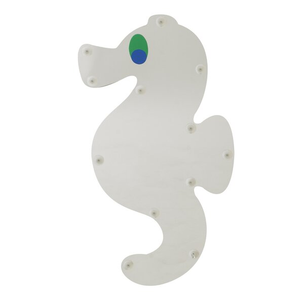 Sea Me Sea Horse Accent Mirror by Children's Factory