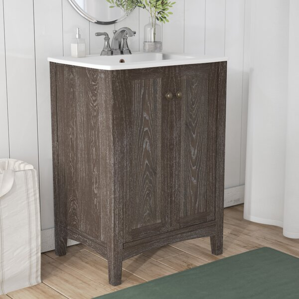 Miltonsburg 24 Single Bathroom Vanity Set by Andover MillsMiltonsburg 24 Single Bathroom Vanity Set by Andover Mills