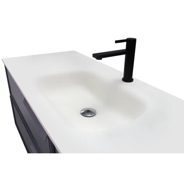 Bothild 47.25 Wall-Mounted Single Bathroom Vanity Set with Mirror