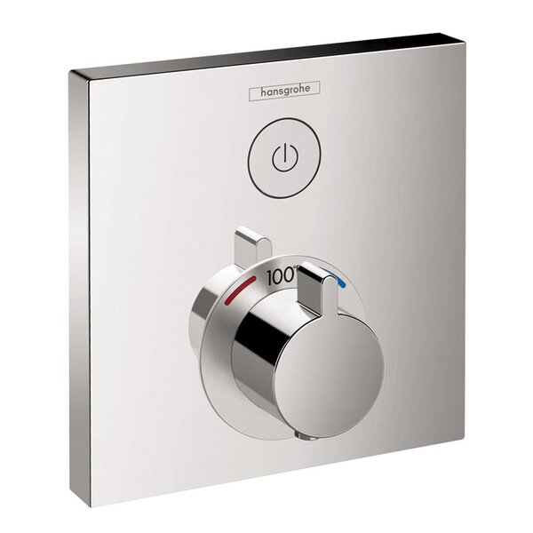 Select E Thermostatic Trim 1 Function, Square by Hansgrohe
