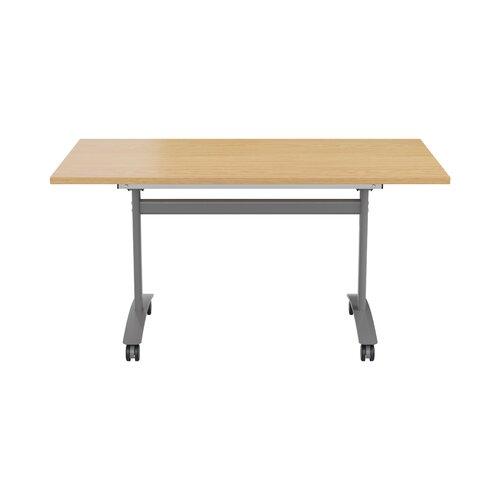 Konferenztisch ClearAmbient Tischplattenausführung: Eiche| Größe: 73 cm H x 160 cm B x 70 cm T | Büro > Bürotische > Konferenztische | ClearAmbient