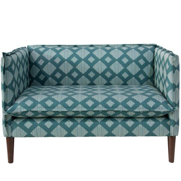 Stutes French Seam Settee Sofa By Brayden Studio