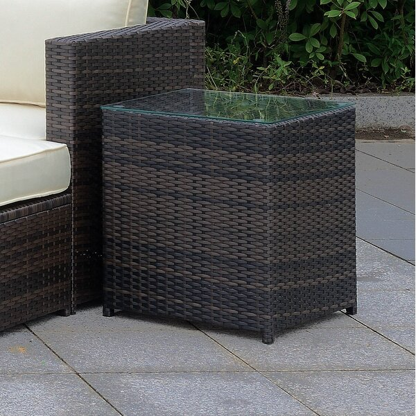 Morrell Patio Side Table by Ebern Designs