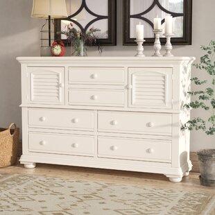 Montcerf 6 Drawer Combo Dresser By Lark Manor