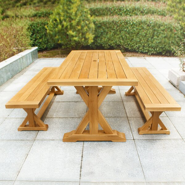 Baytown 3 Piece Dining Set by Fullrich Industries