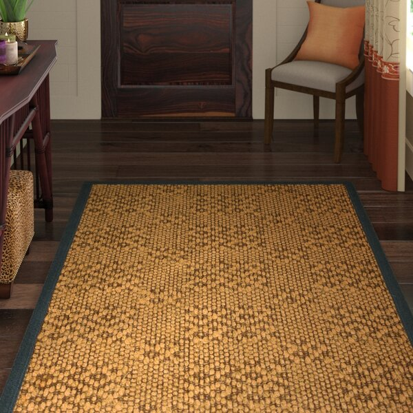 Camile Hand Woven Copper Area Rug by World Menagerie
