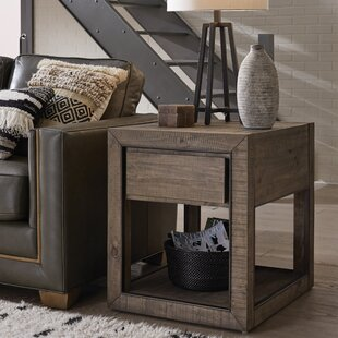 Inexpensive Norah End Table with Storage ByFoundry Select
