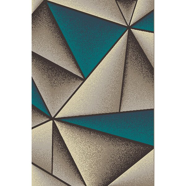 Cosper Blue/Gray Area Rug by Orren Ellis