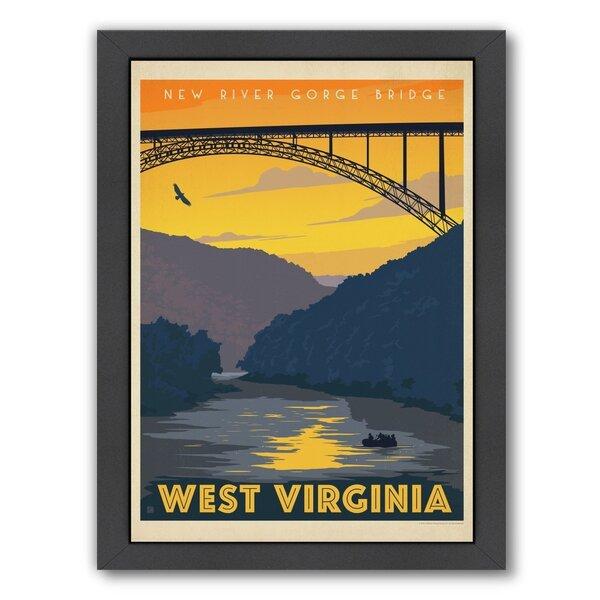 West Virginia Framed Vintage Advertisement by East Urban Home