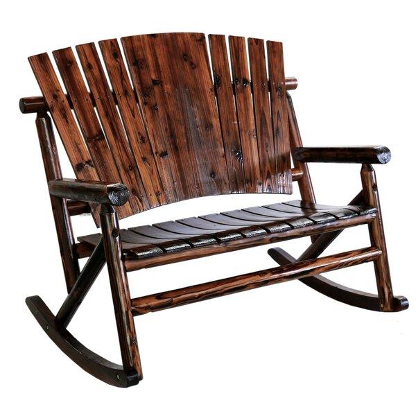 Ardoin Double Rocking Chair by Loon Peak