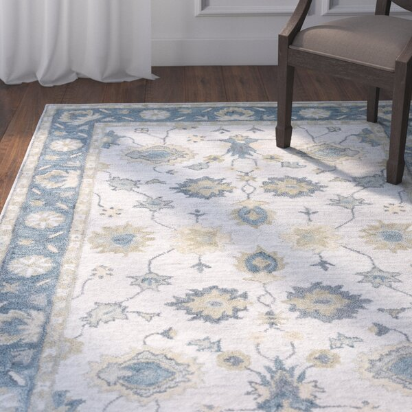 Jelia Hand-Tufted Natural Area Rug by Darby Home Co
