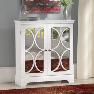 Ansel Contemporary Accent Cabinet
