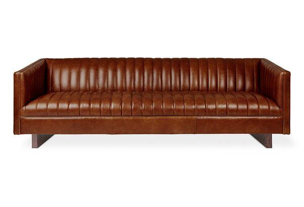 Wallace Leather Sofa by Gus* Modern