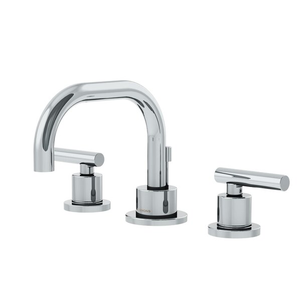Dia Low Spout Widespread Standard Bathroom Faucet Double Blade Handle by Symmons