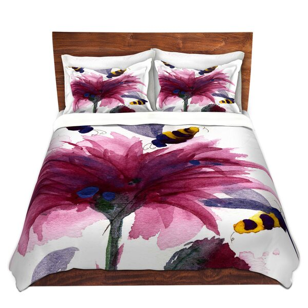Bees In The Thistle Duvet Cover Set