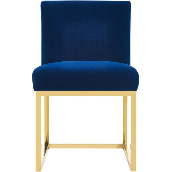 Pattie Upholstered Dining Chair by Everly Quinn