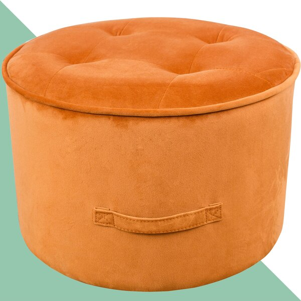 Cutshall Pouf by Hashtag Home