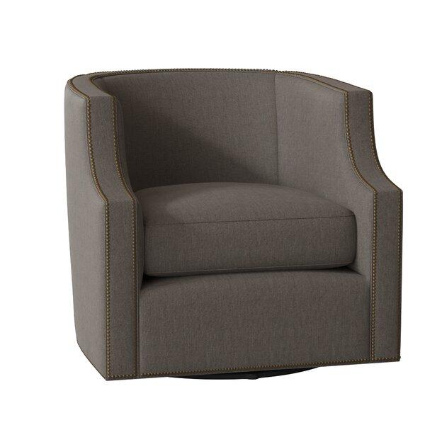 Willow Swivel Barrel Chair by Gabby